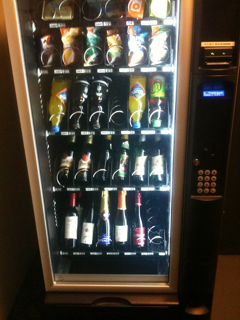 wine vending machine