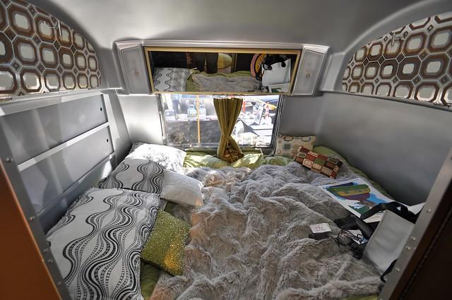 Inside The 1969 Airstream Tradewind Bedroom Flickr
