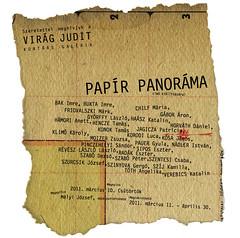 2011. március 1. 23:49 - Papír Panoráma