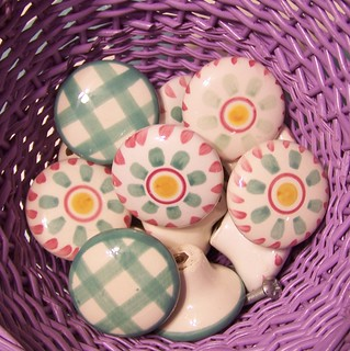 Easter egg drawer pulls