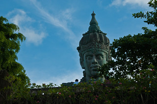 Obraz Vishnu Statue. bali statue vishnu garudawisnukencana