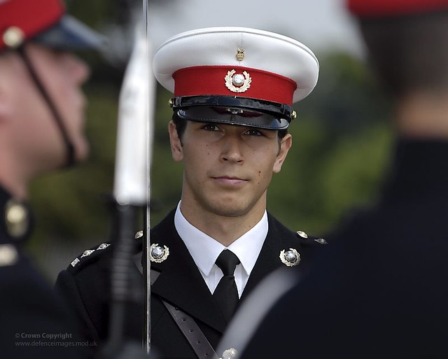 Royal Marines Officer   Flickr - Photo Sharing!