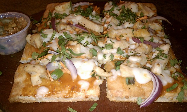 Thai Satay Chicken Flatbread Pizza @ Cosi, Plainview NY | Flickr ...
