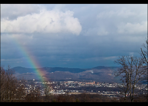 county storm rain weather rainbow cloudy atmosphere stormy rainy cumberland lavale allegany diffraction westernmaryland queencity alleganycounty 21502