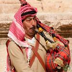 Bagpipe Melodies in an Ancient Roman Amphitheatre - Jerash, Jordan