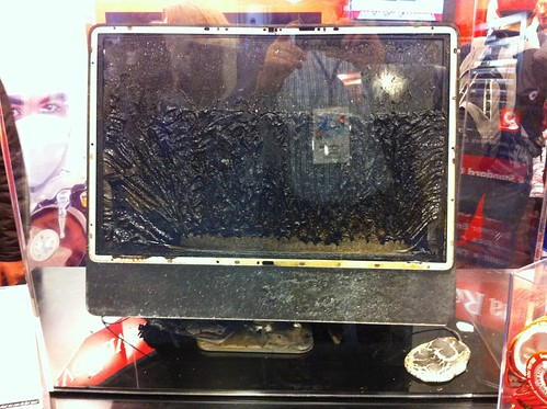 iMac recovered from the Haitian earthquake