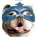 Blue II Mardi Gras Mask