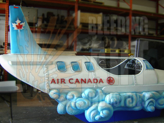 Parade float decoration air canada flickr photo sharing for Air deco