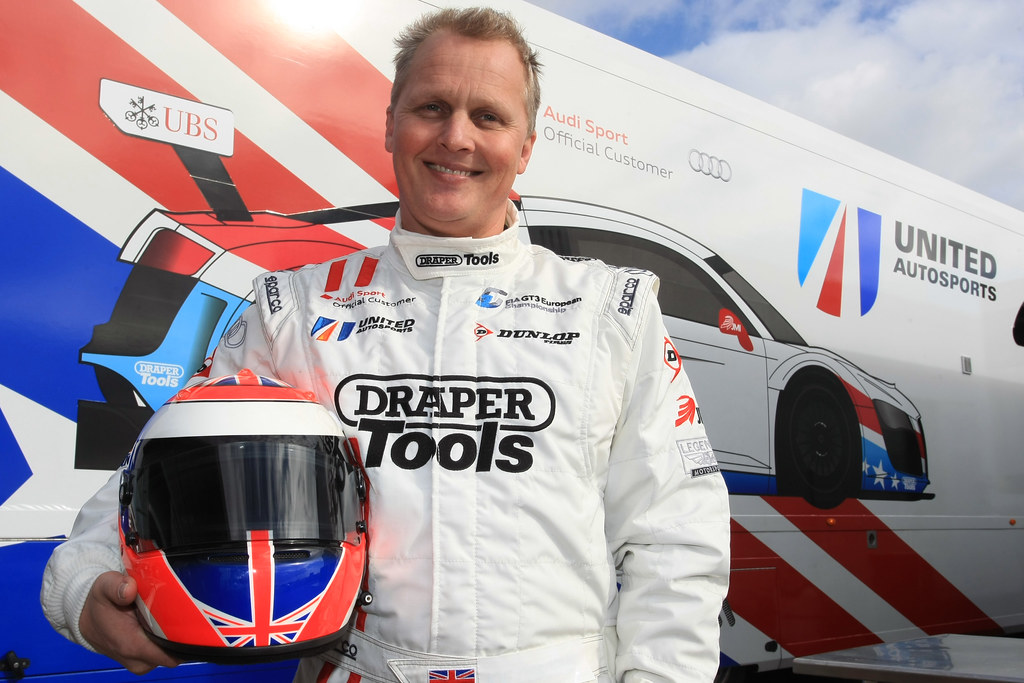 Johnny Herbert's Snetterton Test