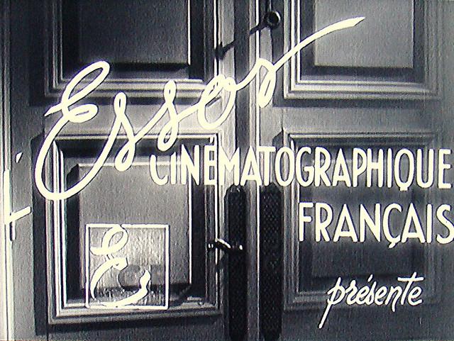 Studio Logo  L'Essor Cinématographique Français 1944