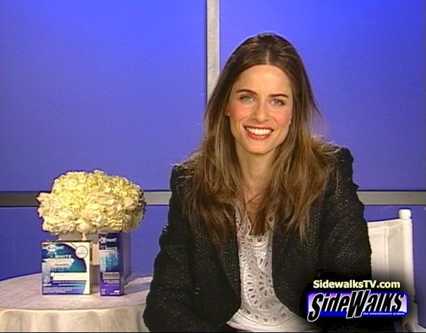 Amanda Peet on Sidewalks TV