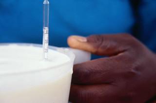 Testing milk in Kenya's informal market
