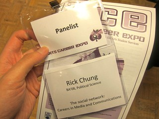 UBC Arts Career Expo 2011