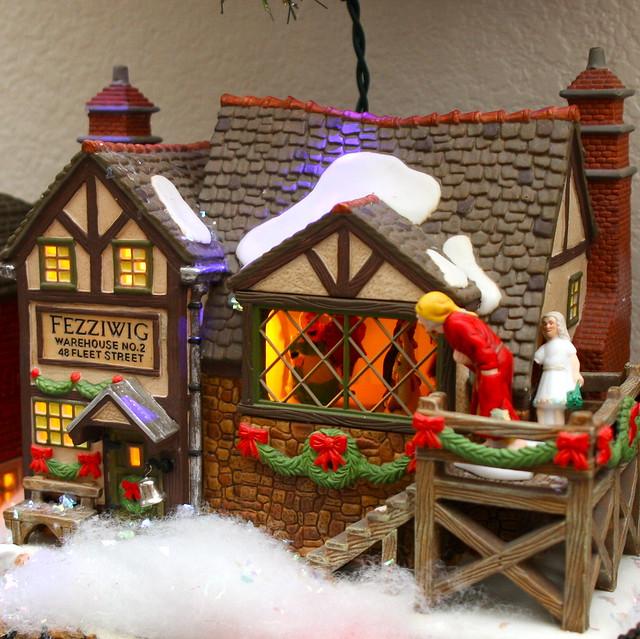 Christmas Village Decorations Ideas: Christmas Decorations 2009 - Scrooge