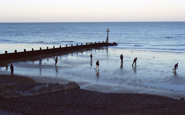 Sheringham Beach Cricket