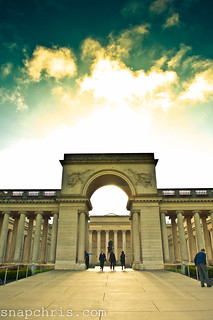 Entrance to the legion of Honour Art Museum