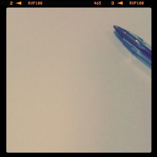 Folio en blanco by Paula Camps