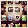 iPhone home screen, Feb 2011
