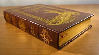 Adventures of Huckleberry Finn - Mark Twain. Easton Press binding.