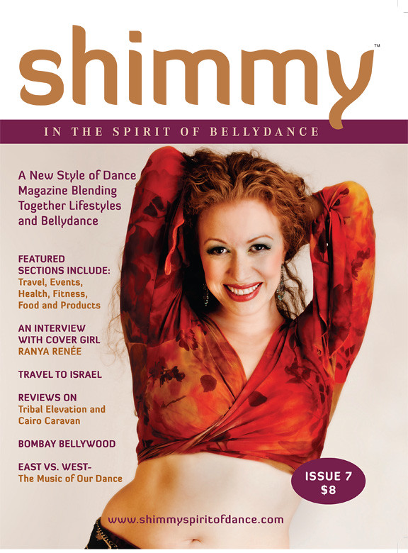 Ranya featured in Fall 2010 Issue of Shimmy Magazine