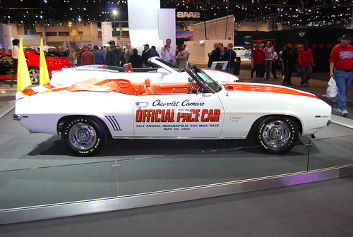 1969 Camaro Indy Pace Car