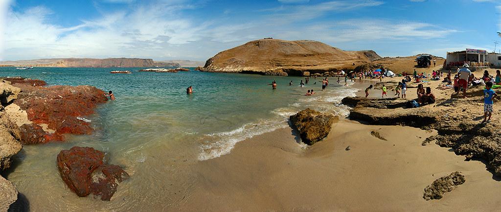 Playa Lagunillas, Paracas, Peru