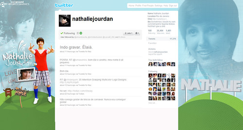 Nathalie Jourdan Twitter Background