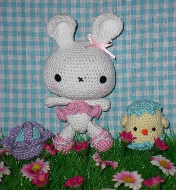 Amigurumi kawaii easter bunny Flickr - Photo Sharing!