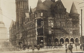 Steele High School, Dayton, OH - 1913 Flood