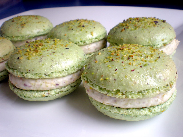 Macarons - Pistachio 03 | Flickr - Photo Sharing!