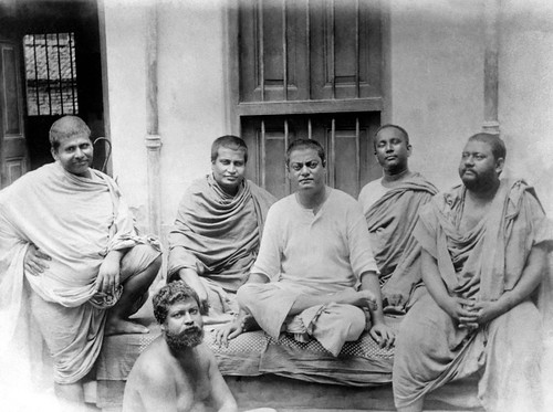 Swami Vivekananda with others