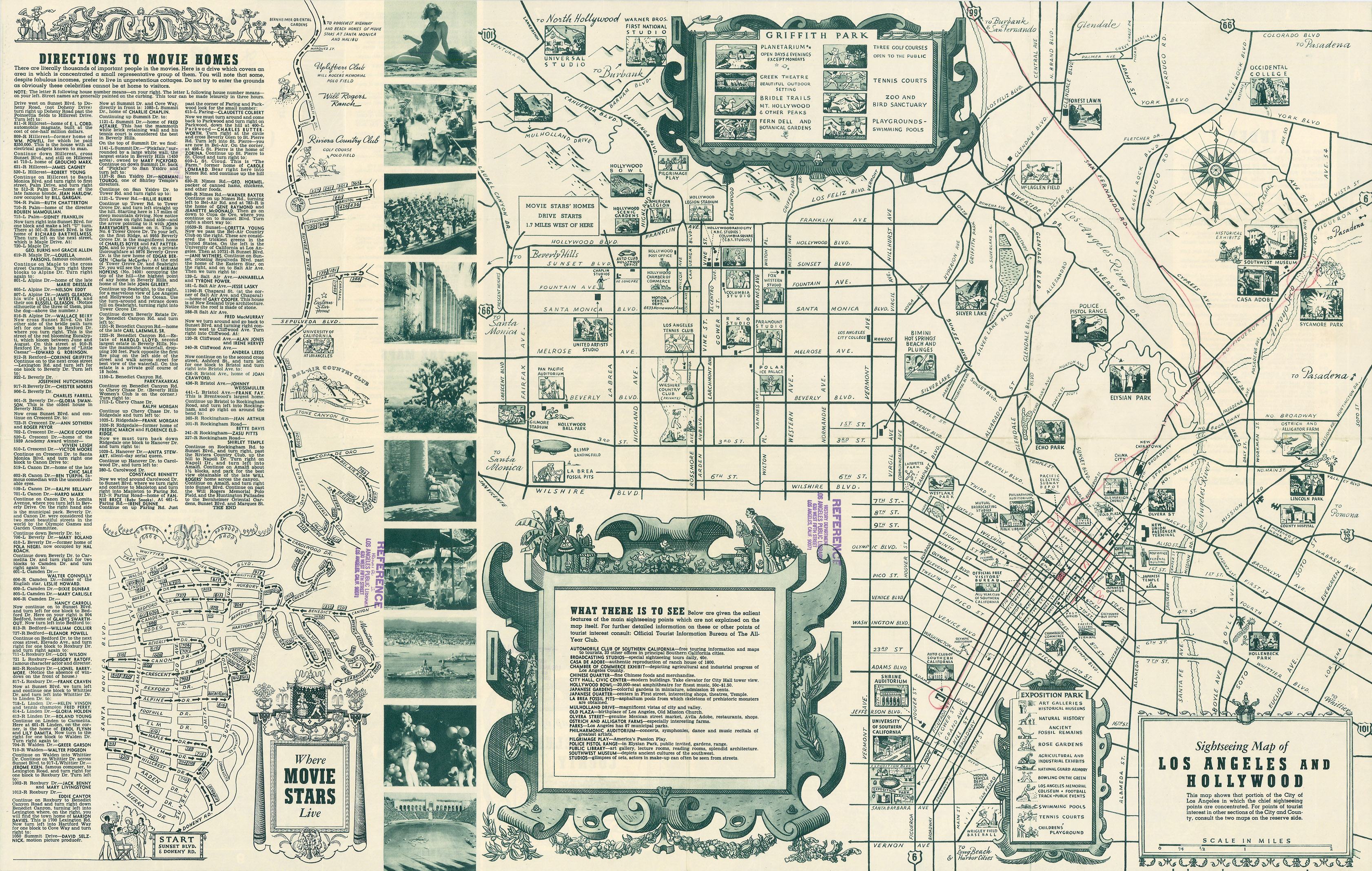 Noirish los angeles page 152 skyscraperpage forum for Beverly hills celebrity homes map