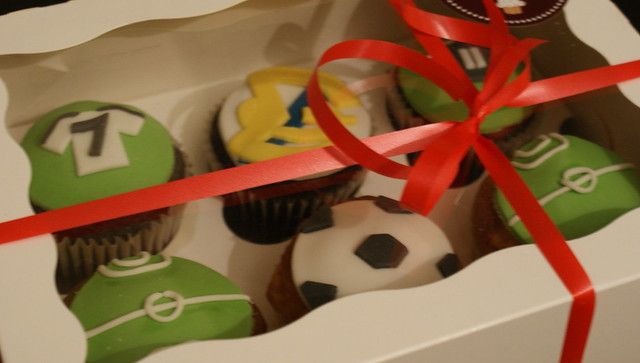 Real Madrid Cupcakes