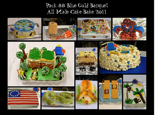 Scouts - Blue & Gold and Cake Auction.