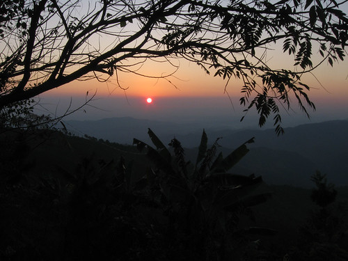 sunrise myanmar mindat chinstate
