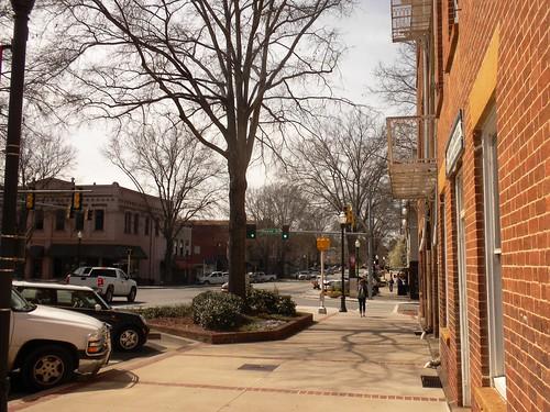brick ga buildings georgia south historic southern milledgeville