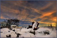 Snow covered Desert Living-room