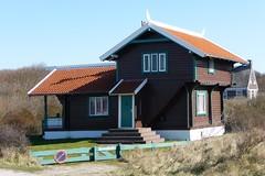 Domburg, Nehalenniaweg 3: Chalet Strandholm