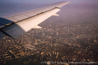 London Docklands from United 2