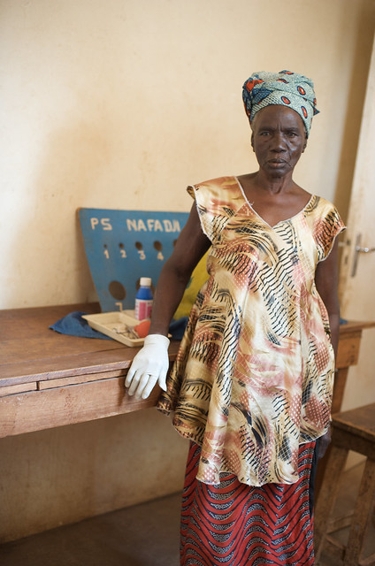 Matron of Banonkoro health centre from Flickr via Wylio
