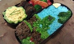 Minecraft soboro bento for boyfriend [#77, 14.03.2011]