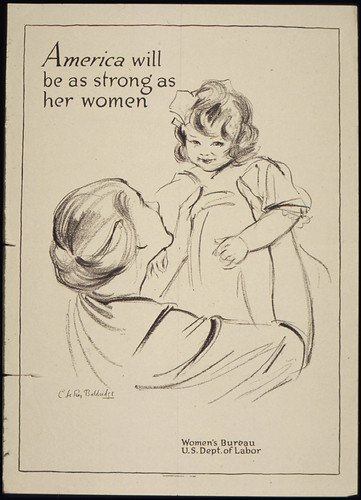 """America will be as strong as her women"", 1941 - 1945"