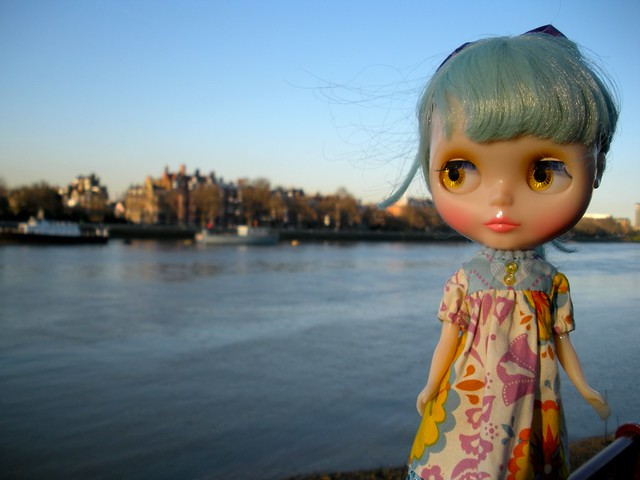lovely girl, lovely sunset (77/365)