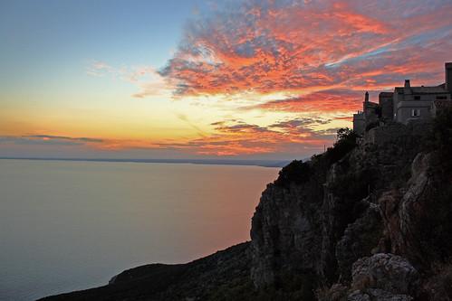 travel sunset sea clouds tramonto croatia croazia viaggio cres lubenice cherso