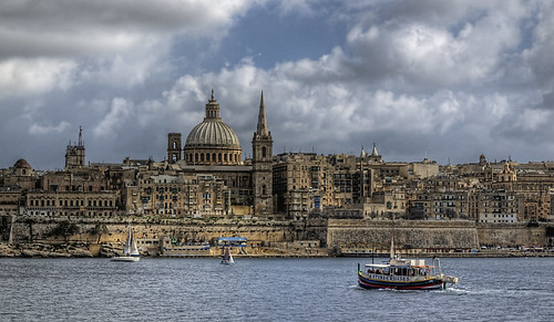 Looking towards Valletta - Malta