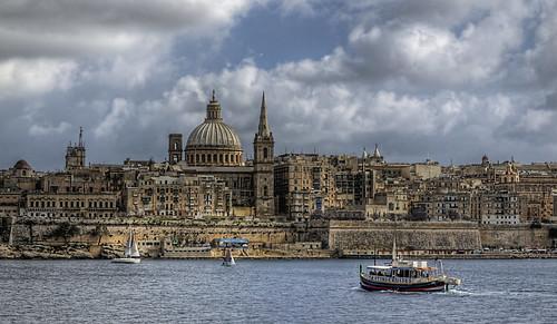 Looking towards Valletta - Malta