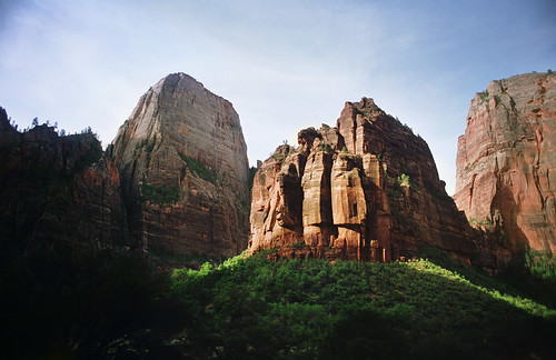 the sentinel, zion national park