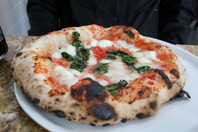 Margherita Pizza @ Una Pizza Napoletana