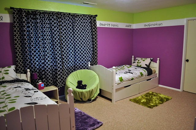 color violet purple bedroom interior design decorate how to tips teen