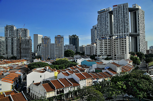 The Pinnacle @ Duxton – The tallest public housing project in Singapore